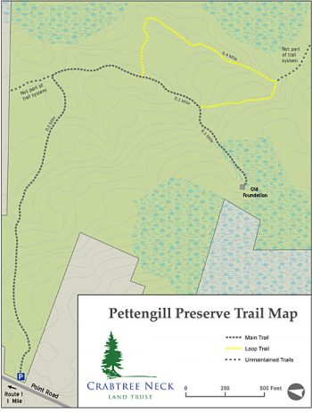 Pettingill Trail Map